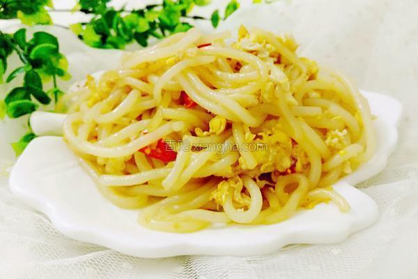 雞蛋炒桂林米粉