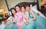 張若昀唐藝昕大婚,高顏值伴郎伴娘3V3,所以馬思純是來搞笑的?