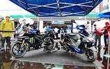 Yamaha MotoGP 工廠車隊圖案的 YZF-R25、XC125