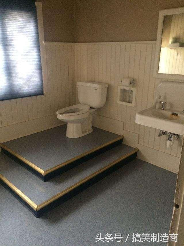這廁所,上得我有點君臨天下的感覺