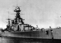 """輝煌的輓歌:二戰中被德國軍艦一輪炮火幹翻的英國皇家海軍的驕傲""""胡德號"""""""