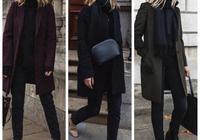 時尚博主教科書式穿搭,簡潔大衣穿出時髦,一秒GET氣質!