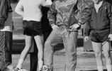 老照片:奧麗維婭赫西、喬布斯女兒、布什父子、太空猩猩、NBA巨星