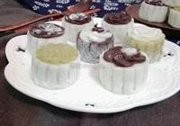 油慄綠豆沙冰皮月餅