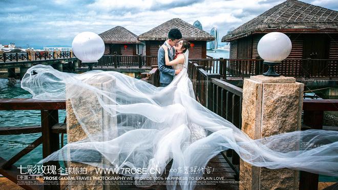 三亞旅拍【七彩玫瑰全球旅拍】婚紗照想去哪拍_就去哪拍