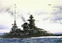 """二戰德國的""""現代海盜船""""——""""沙恩霍斯特""""號戰列艦"""