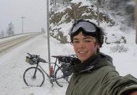 18歲最年輕騎行者 穿越16個國家 獨自騎行31000公里