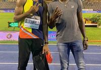 20秒34奪冠!博爾特親自祝賀這位比他高一些的牙買加短跑新星