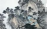 王重興畫家《深秋絢麗 奇石峻嶺》