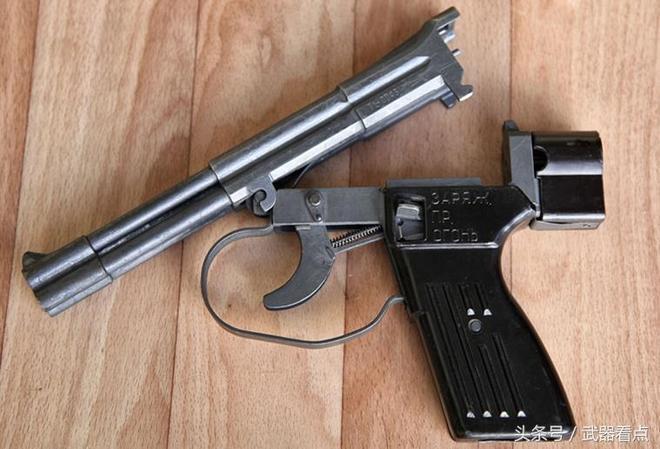 軍事丨俄羅斯:戰鬥蛙人裝備的SPP-1水下手槍
