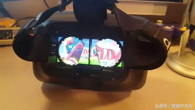 大神將Switch改造出了VR模式