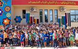 敘利亞第一夫人罕見現身視察學校 與學生擁抱秀親民