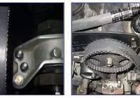 途勝2.0 索納塔2.0 悅動1.8發動機正時皮帶偏磨維修方案