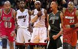 NBA熱火隊史最強陣容,詹韋波三巨頭領銜首發,奧尼爾淪為替補