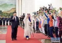 習近平同沙特國王薩勒曼舉行會談