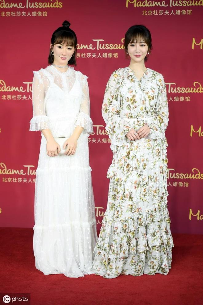 楊紫的蠟像入駐北京杜莎夫人蠟像館,將成為館內最年輕的一位