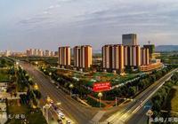 夜幕下的平邑東城