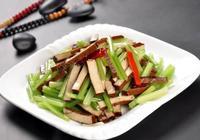 教你製作芹菜炒香乾、芹菜炒蘑菇、芹菜炒蝦仁方法