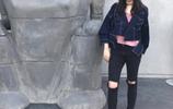 王中磊女兒微博晒照,卻把身上的褲子穿火了,真是太有個性了