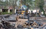 農村小夥把樹木旋成皮子,一天加工上萬張,銷售不出家門