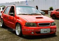 花四千五收了一輛二手夏利 山東車友改裝出了6x6版夏利