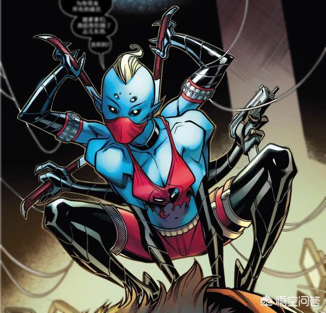 在漫威漫畫中,有哪些英雄擁有六隻手臂?