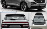 寶駿全新MPV實車曝光!懸浮式車頂設計,這尾燈造型一言難盡