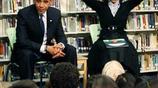 抓拍:美國前總統奧巴馬最尷尬的幾個瞬間,覺得很有意思