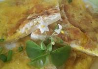 煎蛋蔥油餅