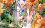 動漫人物圖集:長的很陽光的動漫女孩!