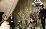 秋瓷炫於曉光婚禮婚禮內場圖,夫妻二人牽手亮相現場浪漫又唯美