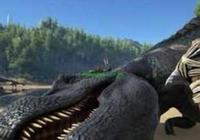 左手抓帝鱷,右手抓副櫛龍!方舟生存進化這個物種有點秀