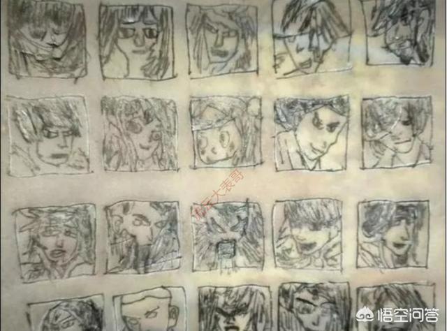 中學生手繪王者榮耀英雄,玩家看了想打人,老師看了沉默了,你能認出這都是哪些英雄嗎?