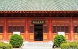 修葺一新,大方整齊,渭南文廟大成殿位於今渭南臨渭區老城