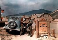 十張美國老照片;1939年的美國總統山、1941年汽車電影院等