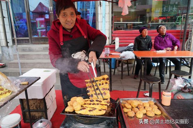 """黍面紅棗""""油炸糕""""1鍋能賣500元,美食好吃價格差別大,啥原因"""