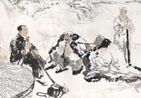 你怎麼看待以石魯趙望雲為首的長安畫派?它對當代畫壇有什麼啟發及意義?