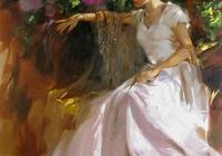 美國藝術家/理查德約翰遜/油畫