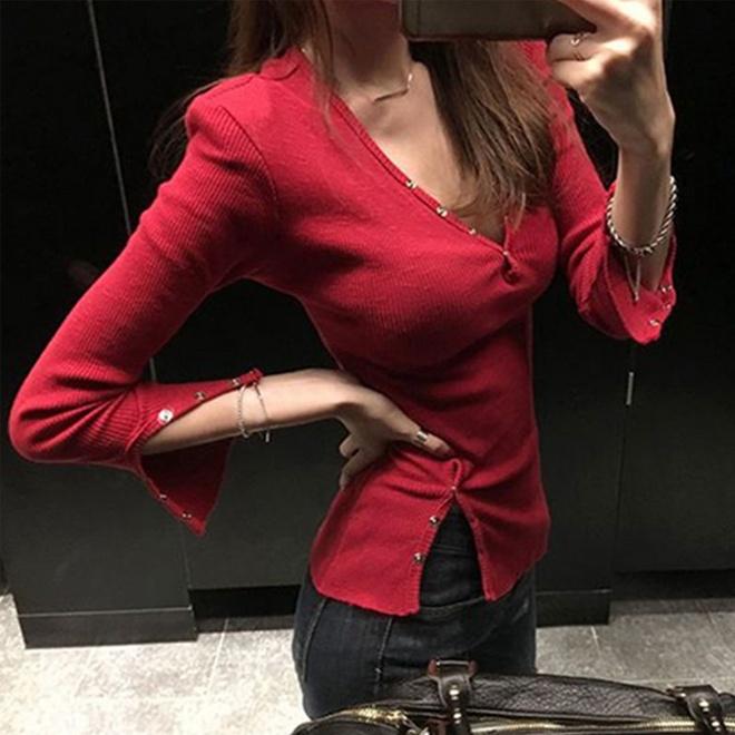 女人長得豐滿怎麼了,這樣的衣服怎麼穿都好看,超性感