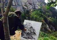 中國山水畫寫生的要點