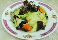 胡蘿蔔炒白菜