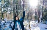 少女的熱情 融化林海雪原
