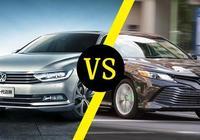 大眾邁騰VS豐田凱美瑞,德系車與日系車到底誰更優秀?