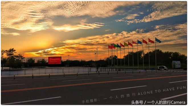 錦州的天空