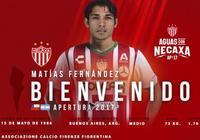 官方:墨西哥內卡薩簽下馬蒂亞斯-費爾南德斯