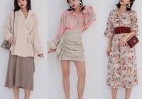 27套淑女風春季穿搭模板,清新優雅,做一個時尚氣質佳人~