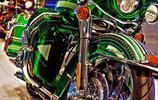 彩繪摩托車