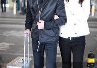 聶遠現身機場和老婆秦子越穿同款鞋秀恩愛,兩人運動裝出行很低調