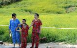 太原西山這個村種了數百畝油菜花,端午假期這裡成了網紅景點