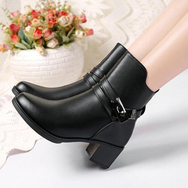 這才是冬天最美的女靴!適合780後女人,時髦洋氣又保暖